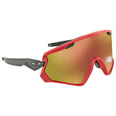 50cf361bb08c8 Oakley Wind Jacket 2.0 Prizm Snow Torch Iridium Sport Sunglasses OO9418  941806