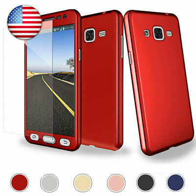 For Samsung Galaxy S8/S8 Plus Slim Case Screen Protect Shockproof Hard Cover US