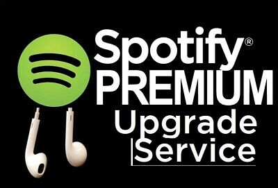 Spotify Premium Upgrade Service - Up To 12 Months