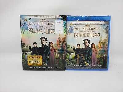 Miss Peregrine's Home for Peculiar Children Holo Slipcover Blu-Ray+2D/3D+Digital