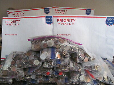 5 Lbs Unsearched Foreign World Wide Coins - From A Large Parcel