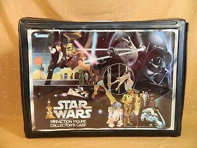 Star Wars Mini-Action Figure Collector's Case w/ Insert Kenner 1978 Vintage