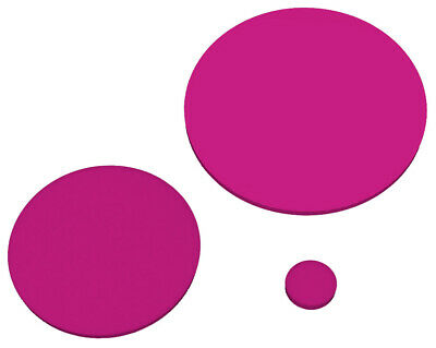 Pink Gloss 4415 Laser Cut Plastic Circles 3Mm Thick Acrylic Discs Perspex