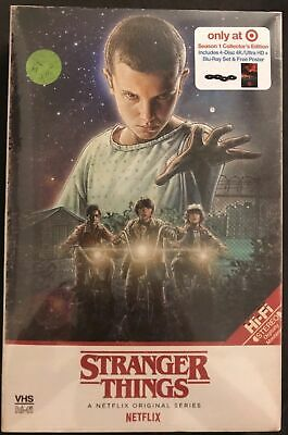 NEW Stranger Things: Season 1 Collector's Edition (4K/UHD + Blu-Ray)