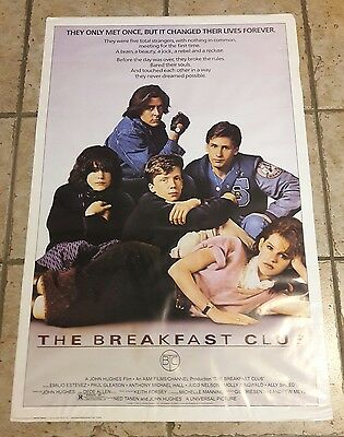 Rare Breakfast Club Poster By Import Images St2943