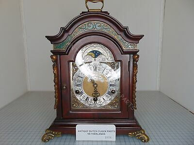 Gorgeous Warmink Walnut Westminster Chime Table Clock