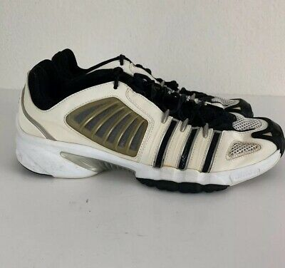 new style bc7a1 f03ec ADIDAS CLIMACOOL ADIPRENE Women's Sneakers 2007 Sz 12 White & Black Retro  Shoes