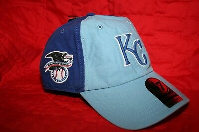 first rate db407 b7f98 Kansas City Royals 47  Brand Clean Up Adjustable Hat Cap American League  Patch