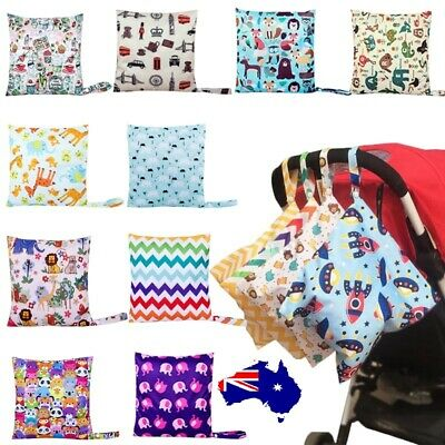 Baby Waterproof Wet Nappy Bag Cloth Nappies infant Cloth Diaper Kid Reusable bag