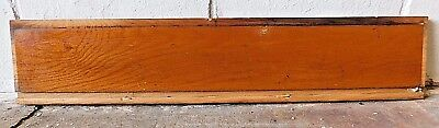 1910 Wooden ANTIQUE Solid Oak STAIR RISER Craftsman Stairway Stair Step FACE