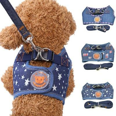 Dog Harness Vest Leash Lead Set for Small Medium Dogs Pet Puppy Harness Control