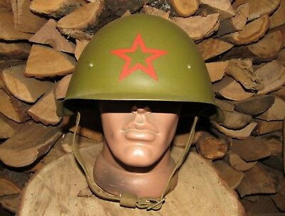 such was used during WW2 . Red Army Helmet SSh-40//42 Soviet
