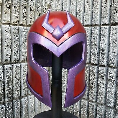 EVOLUTION Magneto Inspired Helmet With Crest Life Size Wearable Deluxe