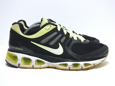 online store 01a12 46546 Nike Air Max Tailwind 2 Women s Running Shoes Black Citron White Size 7.5(