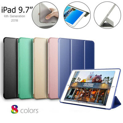 """Shockproof Smart Cover Soft Case for iPad 9.7"""" 5/6th Gen 2018/2017 Auto Sleep AU"""