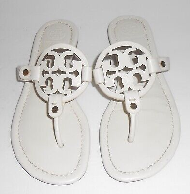 dcd3c31ec 100% AUTHENTIC TORY BURCH Mill Miller Square Toe Thong Sandal 6 Mint ...
