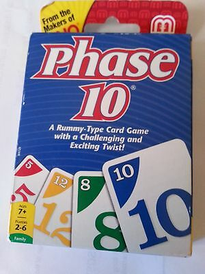 Phase 10 - Classic Card Game Brand New - A Rummy -Type Card Game