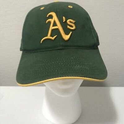 the latest b5c3f 18d13 Vintage Oakland A s Athletics Snapback MLB Official Hat Cap Made By Twins