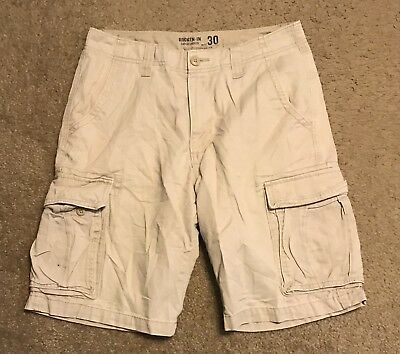 08335bfe18 New American Rag Men's Belted Relaxed Cargo Shorts Size 29, 30, 31.