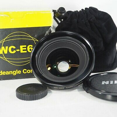 """""""Exc+++++"""" NIKON Wide Converter Lens WC-E63 0.63x For Coolpix From Japan 262"""