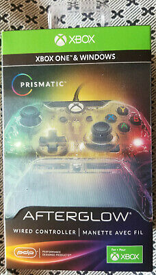 PDP Afterglow Prismatic Xbox One and Windows 10 Wired Gamepad