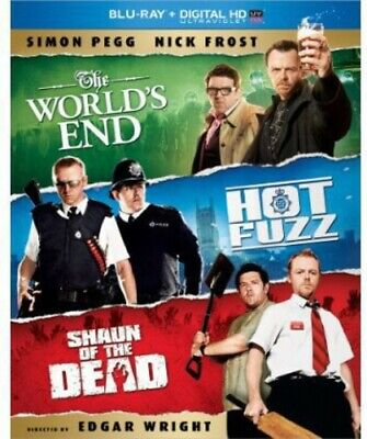 World's End/Hot Fuzz/Shaun of the Dead [3 Di (Blu-ray Used Very Good) BLU-RAY/WS