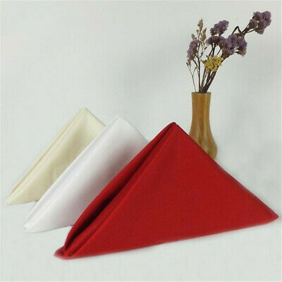 Table Napkin Multicolor Serviette Towels Banquet Restaurant Table Decoration BS