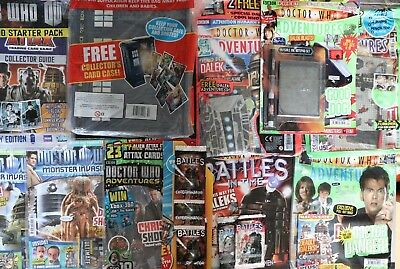 Dr Who Battles In Time & Adventure Magazines & Trading Cards