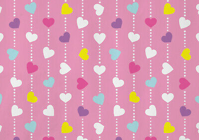 A1| Colourful Heart Poster Print  A1 Size 60 x 90cm Girly Pink Decor Gift #14794