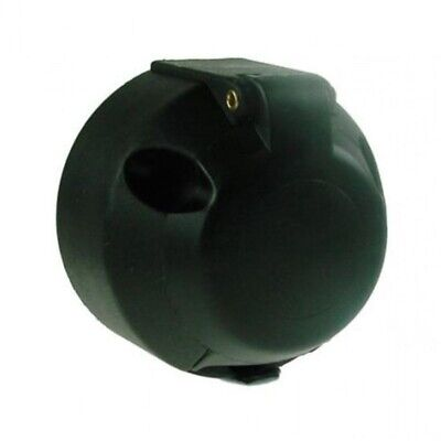 Trailer Caravan 12v 7 Pin Plastic Trailer Towbar Socket