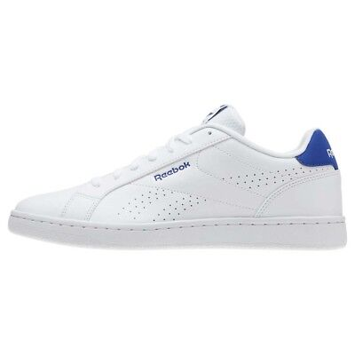 Reebok Royal Complete CLN White/ Blue UK 8.5 EU 42.5 JS47 73