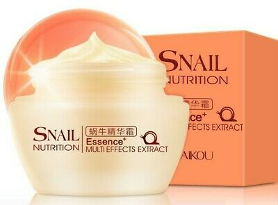 Snail Essence Cream Facial Face Skin Care Acne Treatment Whitening Cream