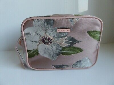 Ted Baker Cosmetic Bag with Hand Cream, Lip Balm & Body Spray - Brand New