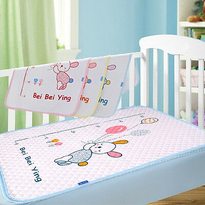 Baby Infant Travel Changing Pad Cotton Reusable Home Cover Waterproof Urine Mat