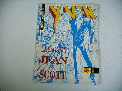 Bd X Men Marvel Mega Scoop N º 4 Saga de Jean y Scott 1994