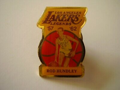 Collectible Pinback Los Angeles Lakers Legends '57 '62 Rod Hundley