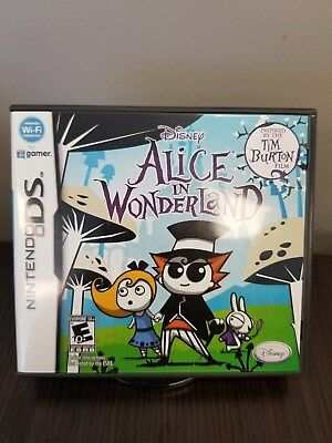 Alice in Wonderland (Nintendo DS, 2010) CIB