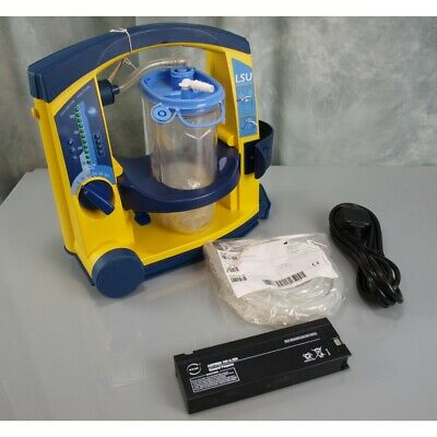 Laerdal Suction Unit LSU with Serres Canister NEW battery
