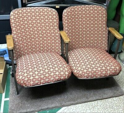 Vintage Antique Theater Seats