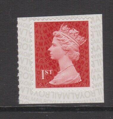 GB MNH MACHIN DEFINITIVE SG U3027 1st Class Deep Red MCIL M18L PB-sL SPB2i