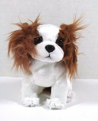 Ty Regal King Charles Spaniel Beanie Baby 2001 Retired Stuffed Animal Dog New!