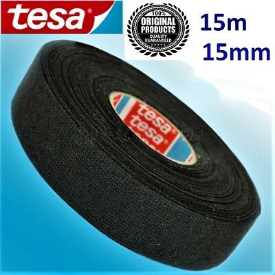 Tesa Tape Rolls Adhesive Cloth Fabric Wiring Harness  15mm 15meters