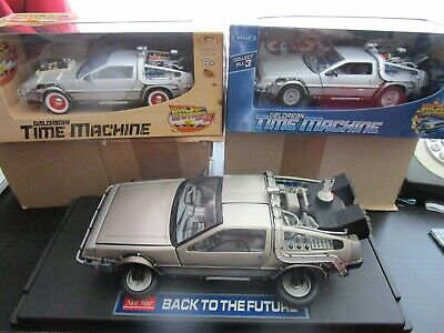 BACK TO THE FUTURE 1.18 SUNSTAR /WELLY BTTF 2 & 3 /1.43 SCALE NEW /time machine