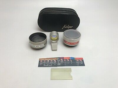 Vintage Kaligar Wide Angle & Telephoto Lens for Kodak Instamatic with Case