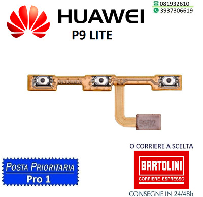 Flat Flex Tasto Accensione Power On Off Volume Huawei P9 Plus Cell Phone Accessories Cell Phones & Accessories