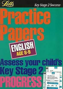 **OP**KS2 Practice Papers: English 8-9: Age 8-9 ... | Book | condition very good