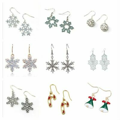 *UK Shop* STOCKING FILLER CHRISTMAS DROP HOOK EARRINGS SECRET SANTA GIFT PRESENT
