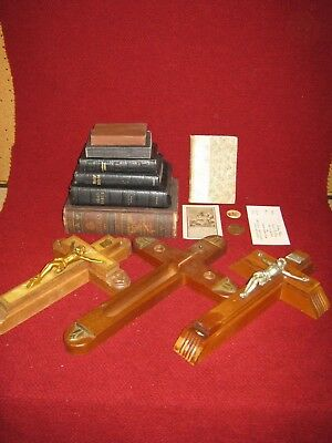 Religious Lot Lectures & Sermons, Bibles, Last Rite Crosses and More