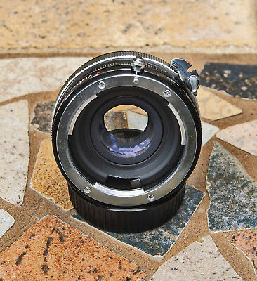 Vivitar Automatic Teleconverter 2X-3 with front and rear caps (non ai)