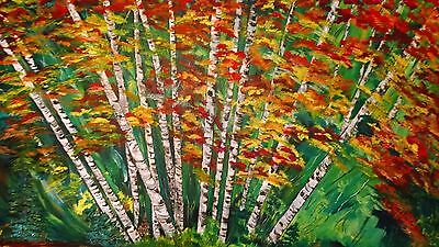 "Fine art signed original by Terry lash 24X36 ""Monkey trees"""